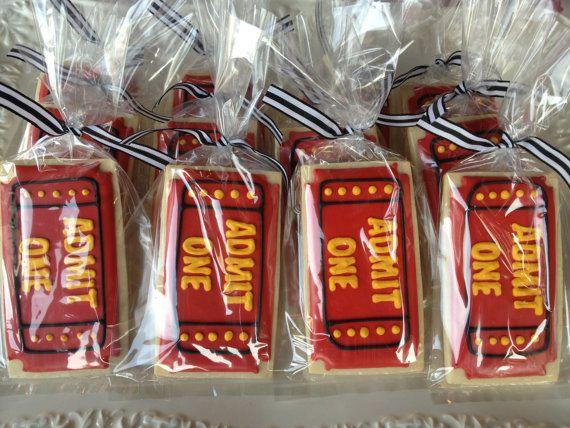 Admit One Ticket Sugar Cookies by NotBettyCookies on Etsy, $34.00