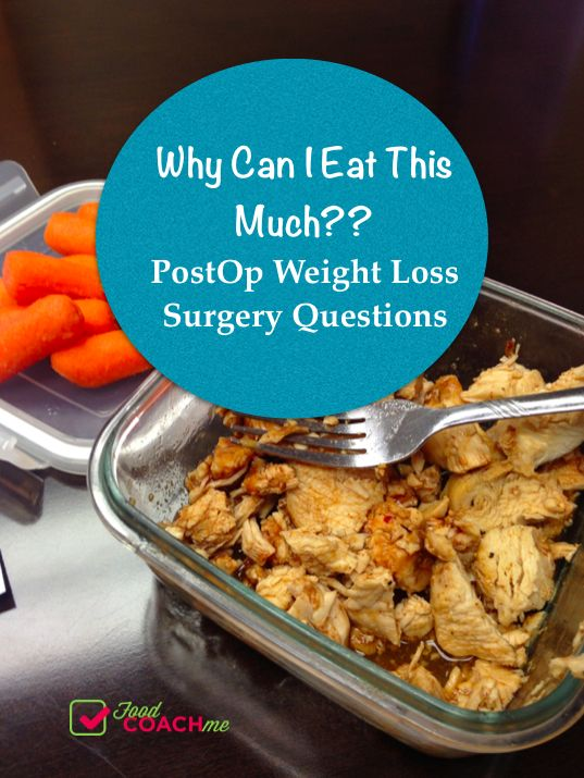 Feel like you can eat too much after weight-loss surgery?? Read this! #foodcoachme