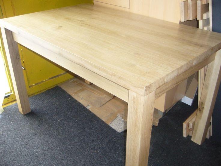 stůl masiv dub nohy do kraje