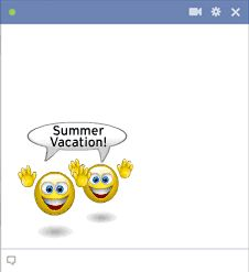 Celebrate the summer when you use great emoticons like this one.