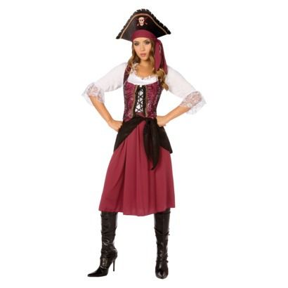Women's Pirate Burgundy