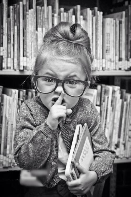 Silencio por favor, quiero leer para saber de los mundos que tengo por delante.