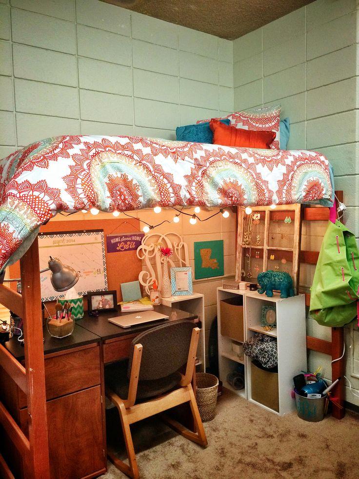 College dorm set up! LSU Miller
