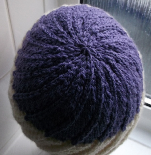 Knitting Pattern Nipple Hat : Spiral Lace Hat pattern by Brian smith