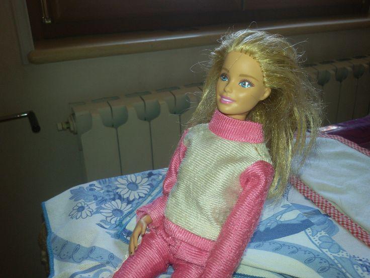 Barbie ginnica