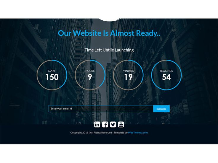 If you're looking for a modern and stylish HTML5 Bootstrap Coming Soon Template, then you've found it, Blazer is a fully responsive which is perfect for coming soon or  landing page website.