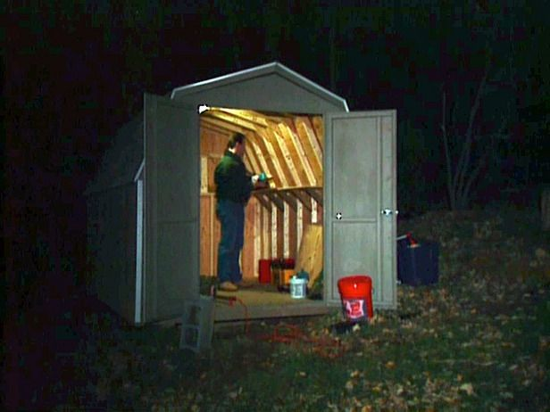 create a solar powered shed install a solar panel on your workshop to power your