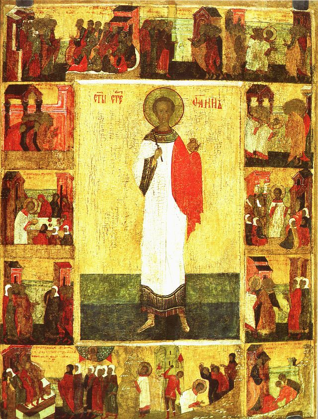 Archdeacon Stephanos (Stephen), Protomartyr - December 27