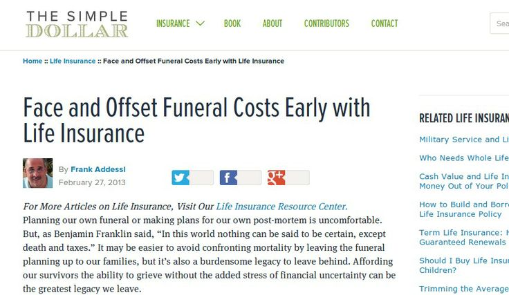 Offset final expenses with life insurance funeral costs