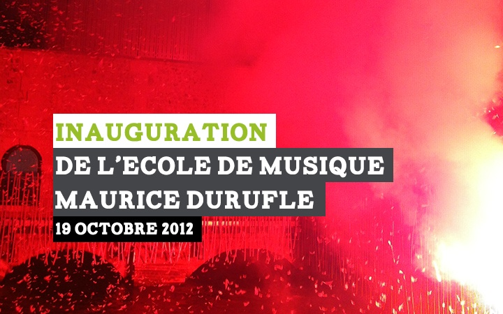 Rétrospective de l'inauguration de l'école de musique de Louviers http://louvierswebtv.wmaker.tv/Inauguration-de-l-Ecole-de-Musique_v138.html