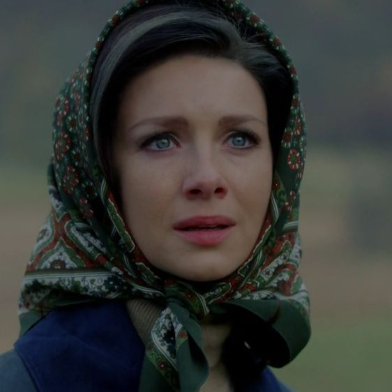 """Claire Randall (Caitriona Balfe) in Episode 213 """"Dragonfly In Amber"""" Outlander Season Two Finale on Starz via  https://outlander-online.com/"""