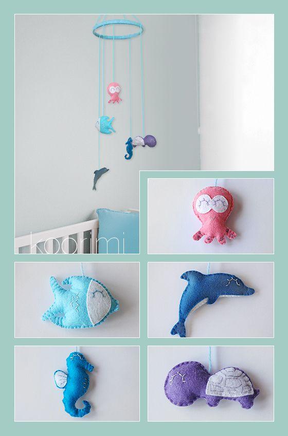 M vil para cuna de beb personalizado con la tem tica y colores deseados m vil cuna b b - Movil para cuna bebe ...