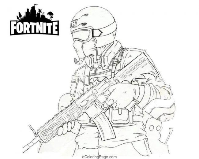 Fortnite Coloring Pages Dark Voyager Collection