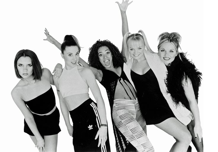 Spice Girls photographed by Kunihiro Takuma for the Spice album in Tokyo, Japan on May 21st, 1996!