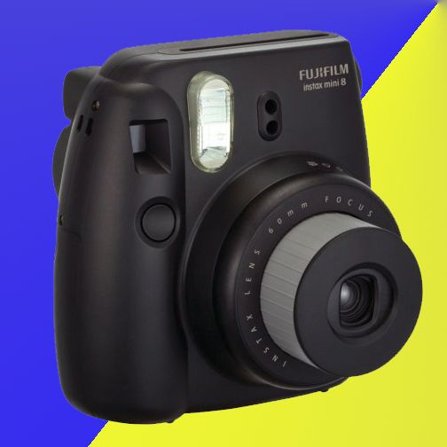Capture all your memories with the Fuji Instax Mini 8 Instant Film Camera. With its compact size, traveling with it won't be a problem. Just don't capture your memories in the pool...