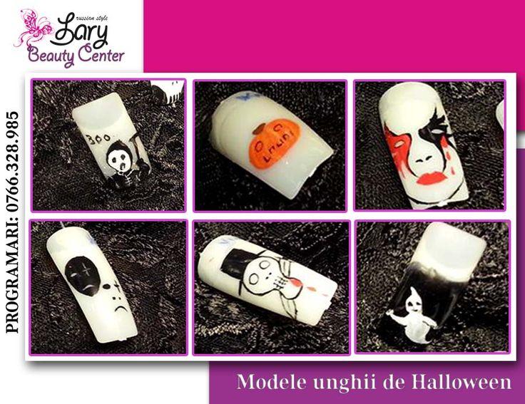 modele de Halloween http://www.larybeautycenter.ro/servicii/unghii-cu-gel-sau-acryl