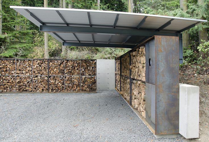 anthony pellecchia utilizes steel, concrete, & wood in villa lucy carport                                                                                                                                                      More