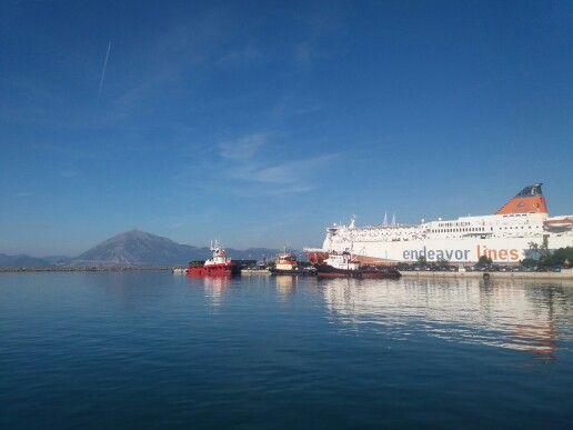 Το λιμάνι της Πάτρας