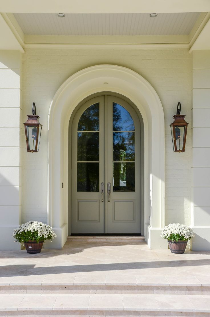 Arched Double Front Door Arched Exterior Doors Arched Front Door Exterior Doors With Glass