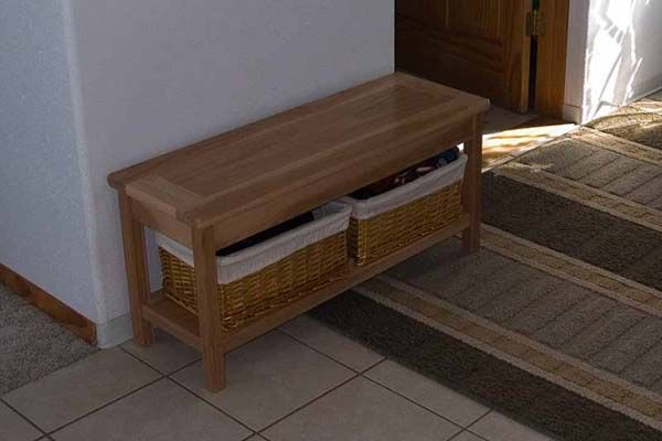 1000 Ideas About Small Entryway Bench On Pinterest
