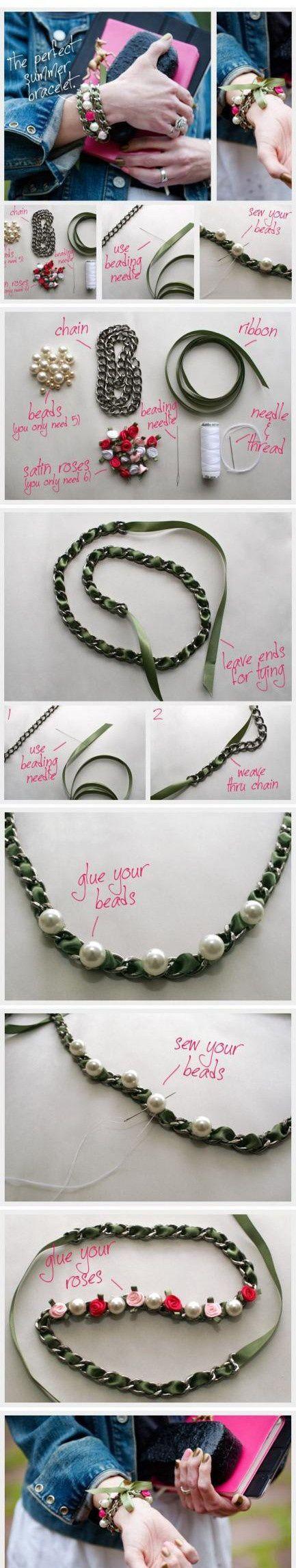 DIY Perfect Summer Bracelet