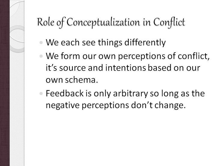 the role of conflict in the The role of women in international conflict resolution cassandra k shepherd1 [l]eveling the playing field—where women and men have equal chances to become socially and politically active, make.