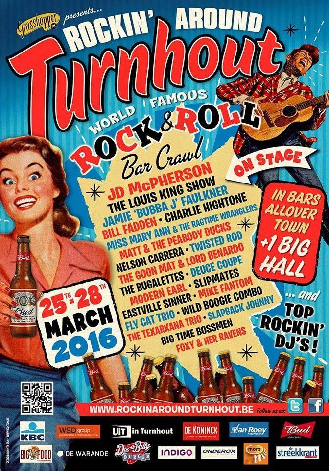 Rockin' Around Turnhout 25th-28th March 2016