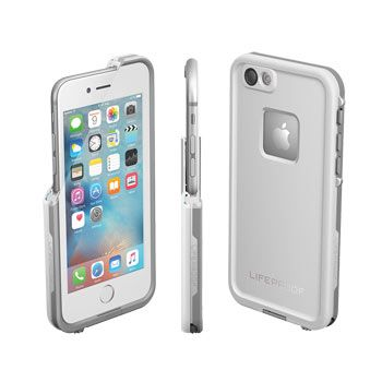 FRĒ Waterproof iPhone 6/6s Case | Take your iPhone 6/6s Anywhere | LifeProof in AVALANCHE WHITE