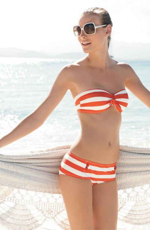 cute suit.: Summer Suits, Stripes Bikinis, Bikinis Models, Swimsuits, Marc Jacobs, Bath Suits, Summer Bikinis, Cute Bikinis, Swim Suits