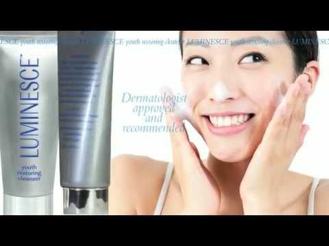 LUMINESCE - Youth Restoring Cleanser. Protect your skin's natural hydration while detoxifying deep within the cells. The first step in the LUMINESCE skin care system, our youth restoring cleanser purifies and prepares your skin for youth-enhancing treatments.