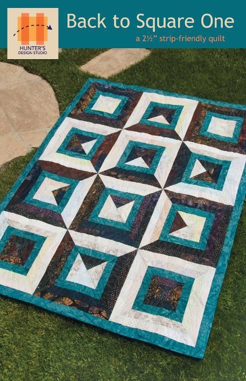 Back to Square One Quilt pattern $9.50 on Craftsy at http://www.craftsy.com/pattern/quilting/home-decor/back-to-square-one/62429