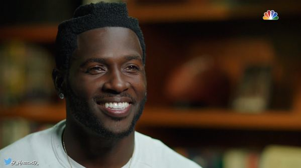 What The Heck Is Up With Pittburgh Steelers WR Antonio Brown's Hair? [PHOTO] | FatManWriting