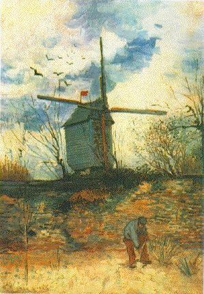 Vincent van Gogh: The Paintings (Le Moulin de la Galette) 1886. Private collection.