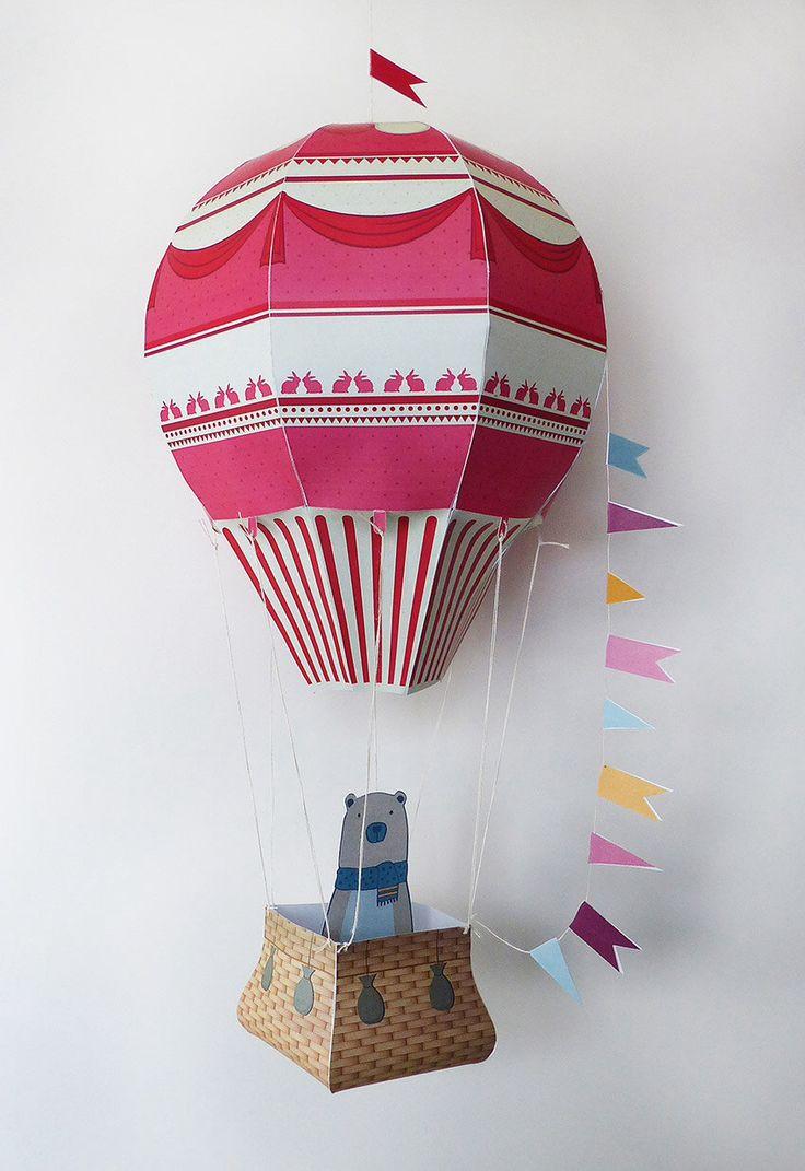 Globo decorativo, Globo de papel, Decoración infantil, Decoración Hogar, Juguete de papel de GraphicHomeDesign en Etsy https://www.etsy.com/es/listing/266245446/globo-decorativo-globo-de-papel