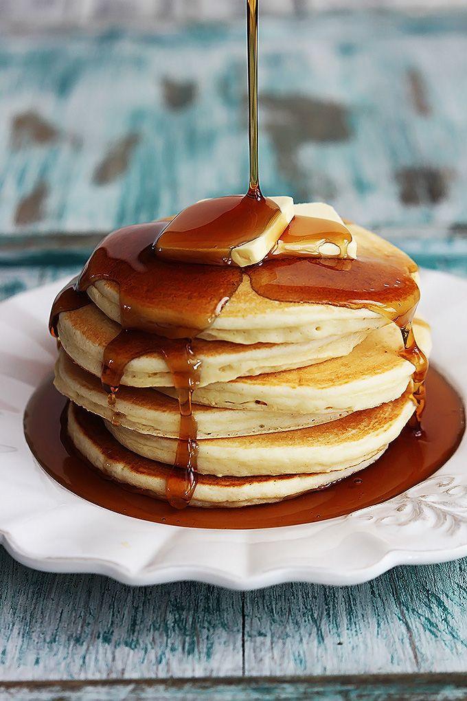 Greek Yogurt Pancakes - eliminate sugar and use sugar free syrup