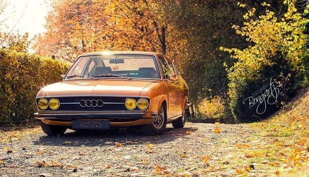 Photography Bongartz Mrsorangina In Autumn Robe Audi 100 Coupe