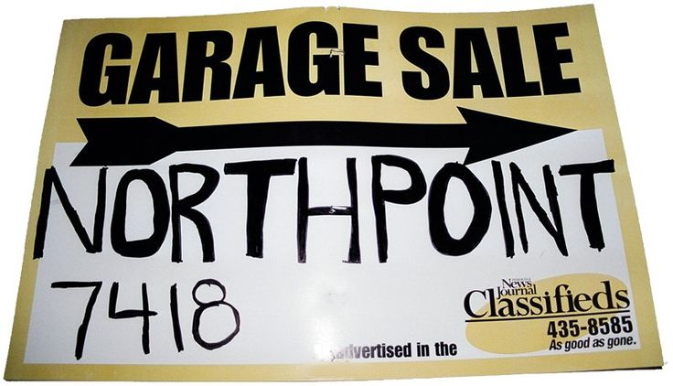 Unique Ways To Advertise Your Yard Sale & Tips For Writing A Classified Ad For Your Yard Sale