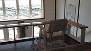 Cabin By The Canal is located in the town of Fogo on Fogo Island, Newfoundland. This beautiful oceanfront cottage is available to rent on a nightly basis.