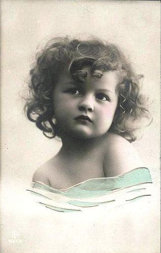 Vintage Postcard ~ Pretty Girl | Flickr - Photo Sharing!