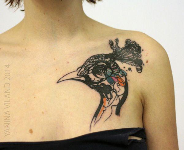 Tattoo Designs Of Peacock