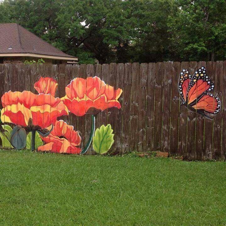 отварить, картинки из цветов на забор новогодних