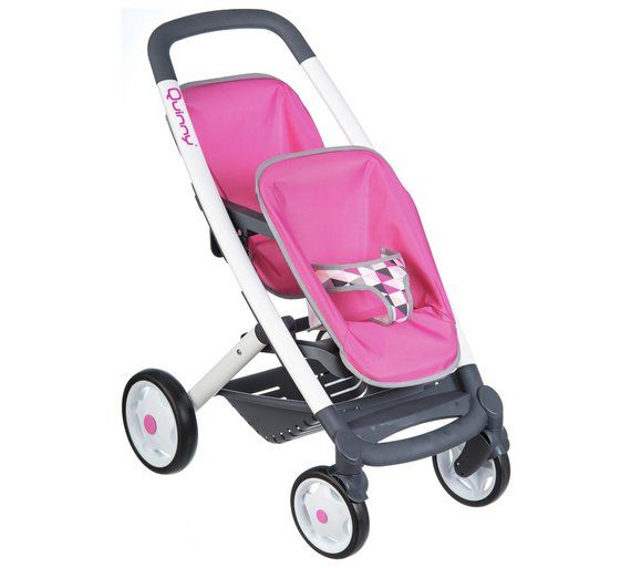 Buy Smoby Maxi Cosi Quinny Twin Dolls Pushchair Doll Prams And Pushchairs Baby Strollers Dolls Prams Prams Pushchairs