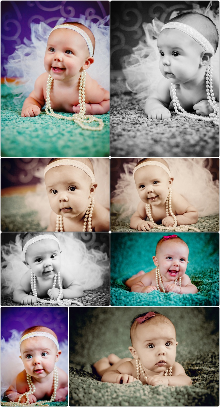 BrieAnna Clothier Photography  3 month baby girl