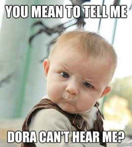 Skeptical Baby Meme.awww