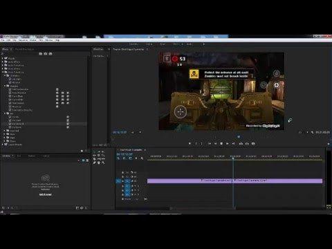 Adobe Premiere Pro CC Add Video Transitions - YouTube