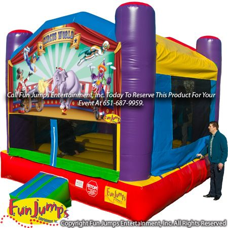 Circus World MN Moonwalk Rentals, Inflatable Fun Jumps Entertainment, Inc.