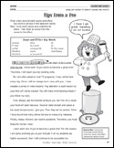 Cause & Effect key words worksheet