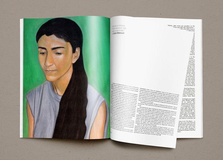 Portait of I.Bettancourt Illustration by Ioanna Merope Kakoulidi