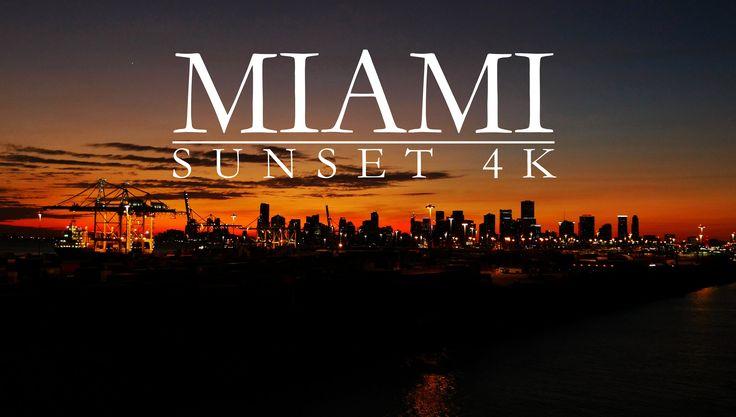 awesome AIDA Vita - Cruise Ship leaving Miami in sunset 4K
