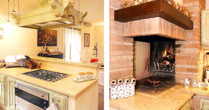 Oltre 25 fantastiche idee su cucine rustiche su pinterest lampadari rustici cucina rustica e - Cucina con camino ...
